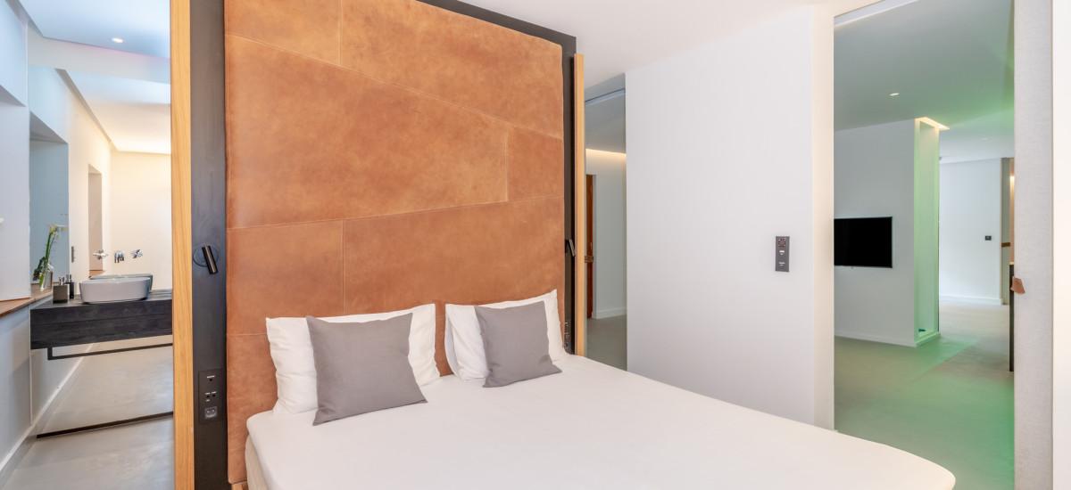 Hotel Faro de Punta Cumplida Tenerife Rusticae cama2