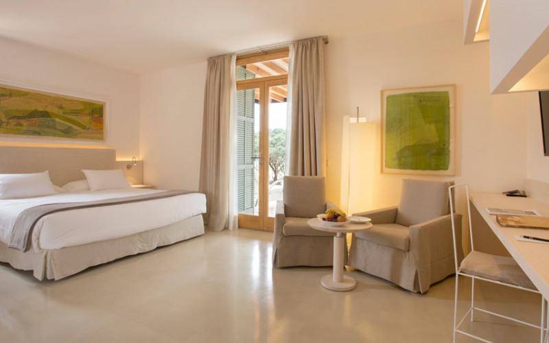 Rusticae Mallorca charming Hotel Fontsanta bedroom
