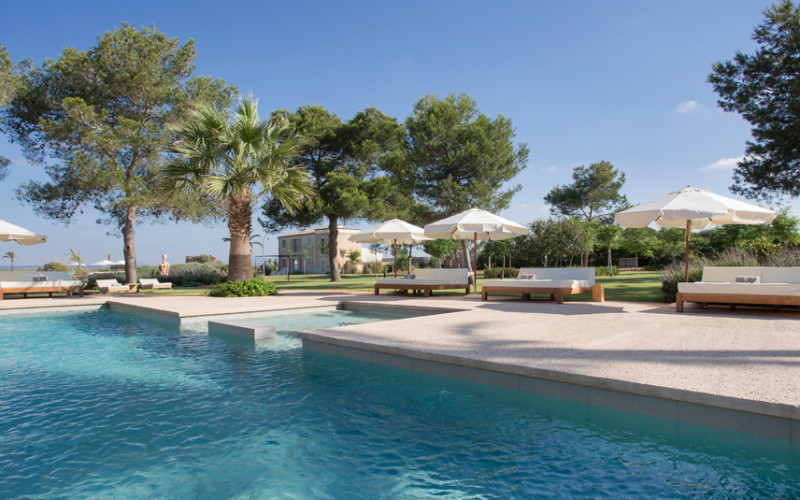 Rusticae Mallorca charming Hotel Fontsanta swimming pool
