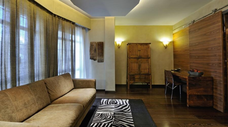 Rusticae Barcelona Hotel con encanto Salón Habitación