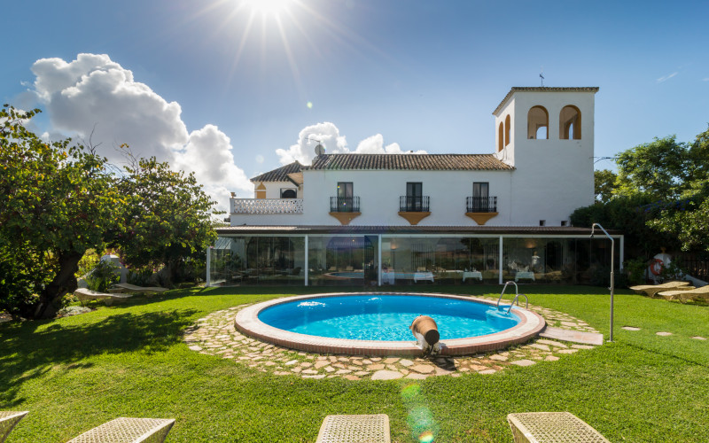 Hacienda El Santiscal Hotel Arcos Cadiz Piscina