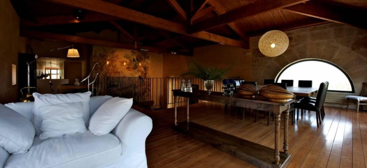 Rusticae Zamora luxury Hacienda Zorita Reserve living room