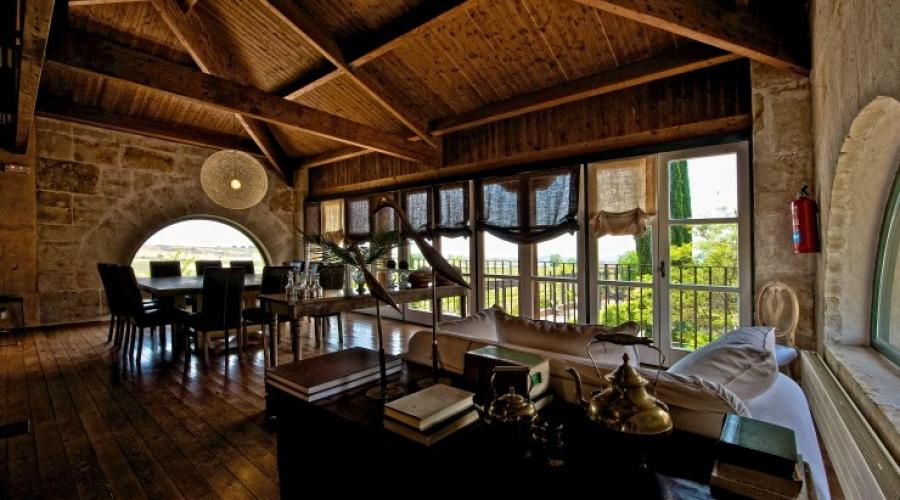 Rusticae Zamora Hacienda Zorita Reserve de vino Salón