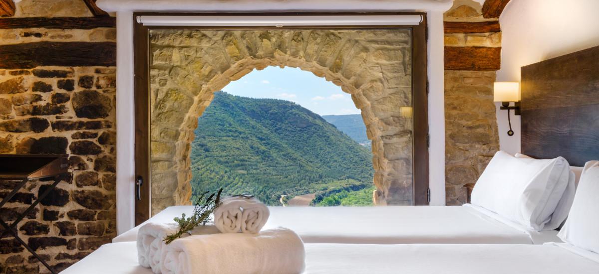 Herdad Beragu Hotel Rural Rusticae habitación vistas
