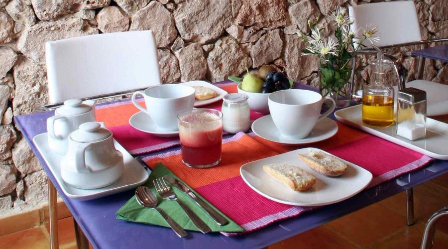 Rusticae Murcia Hospedería Bajo el Cejo rural desayuno