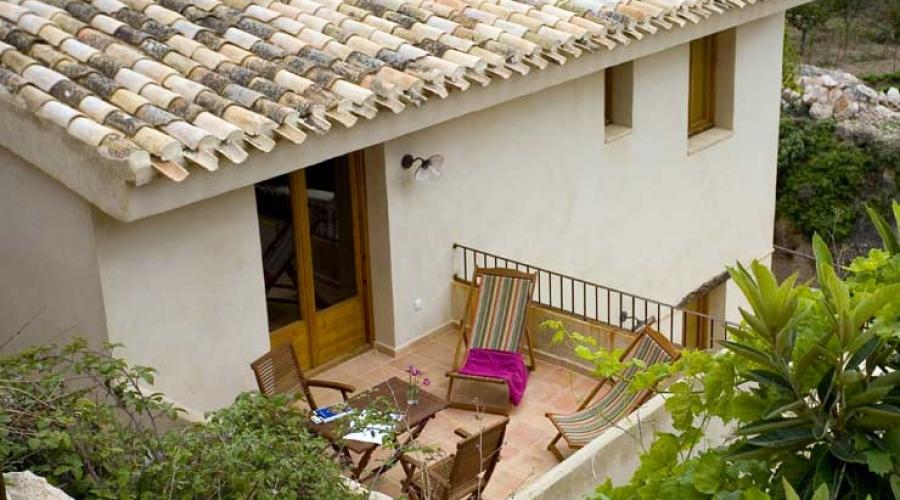 Rusticae Murcia Hospedería Bajo el Cejo rural terraza