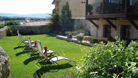 Rusticae Segovia Hotel Santo Domingo con encanto Terraza