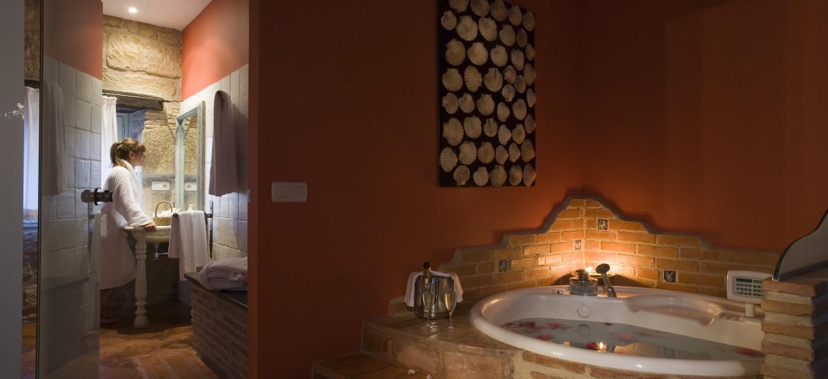 Rusticae La Rioja Hotel Señorío de Briñas rural bathroom