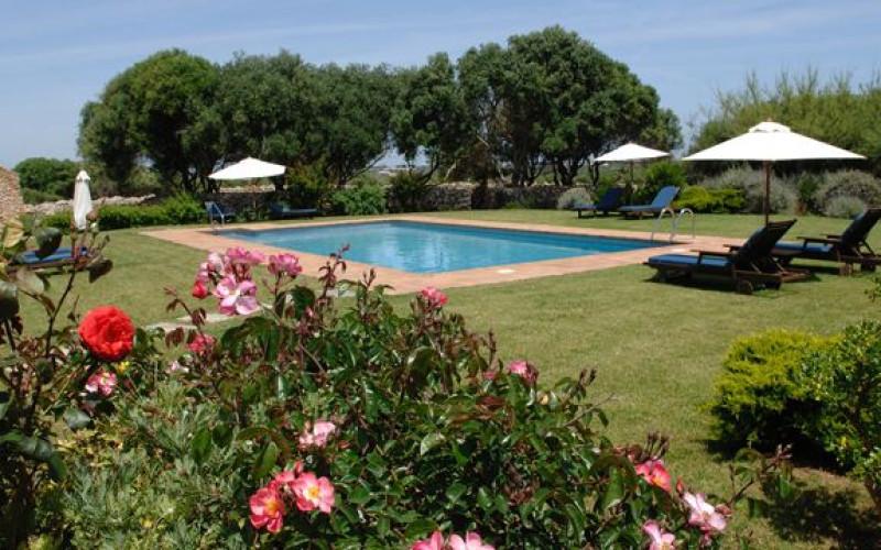 Rusticae Menorca charming Hotel Alcaufar Vell swimming pool