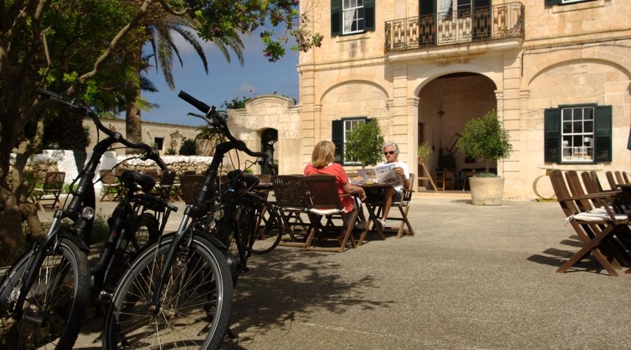 Rusticae Menorca Hotel con encanto Terraza