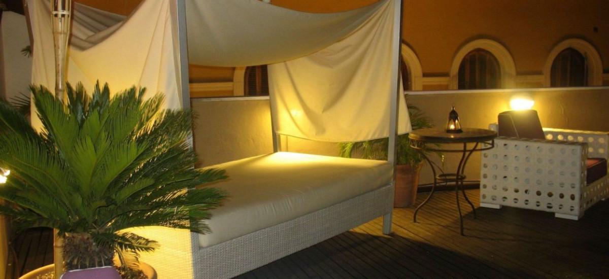 Rusticae Sevilla Hotel Alcoba del Rey con encanto Terraza
