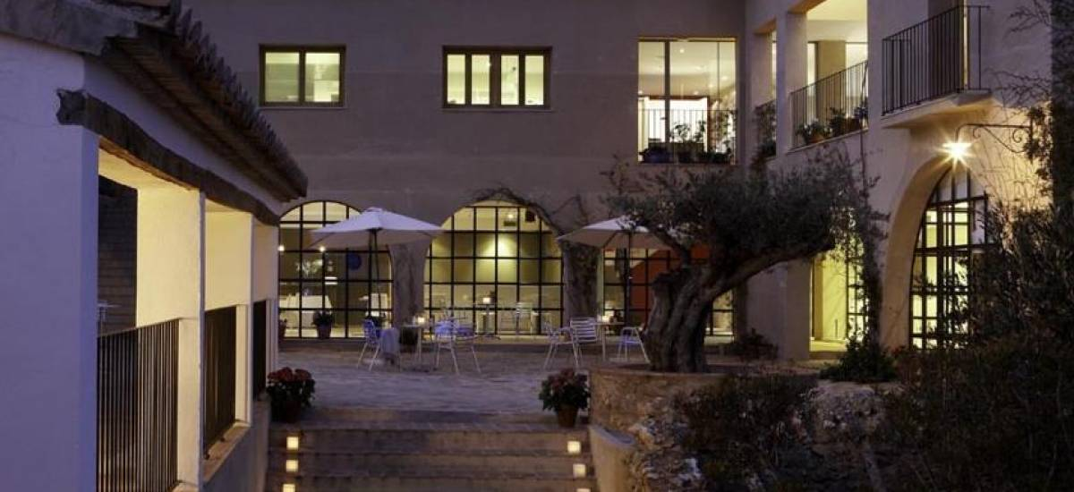 Rusticae Castellón Hotel con encanto Terraza