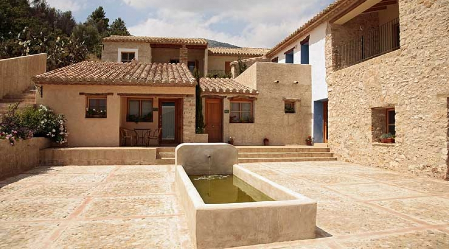 Rusticae Castellón Hotel con encanto Patio