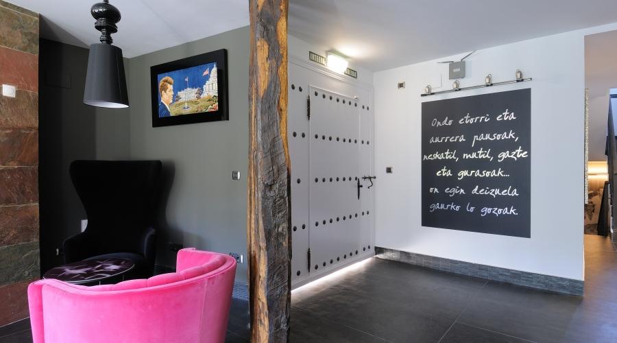 Rusticae Vizcaya Hotel Aldori Landetxea Románticos Recepción