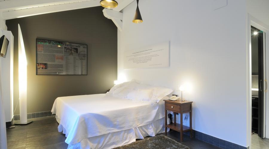 Rusticae Vizcaya Hotel Aldori Landetxea con encanto Habitación