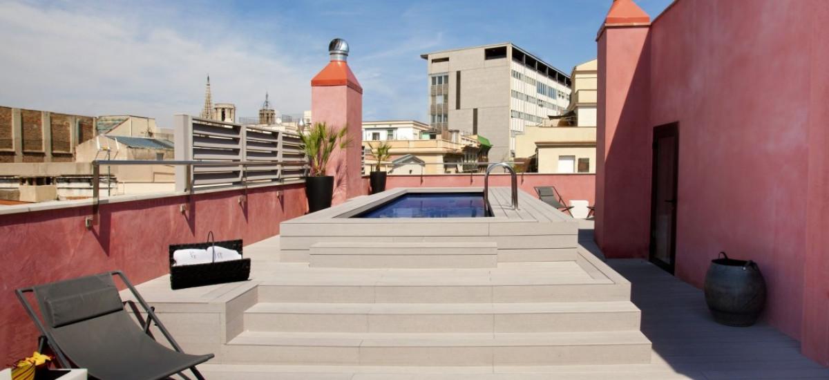 Rusticae Barcelona Hotel con encanto Piscina privada