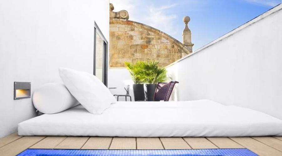 Rusticae Barcelona Hotel con encanto Terraza privada