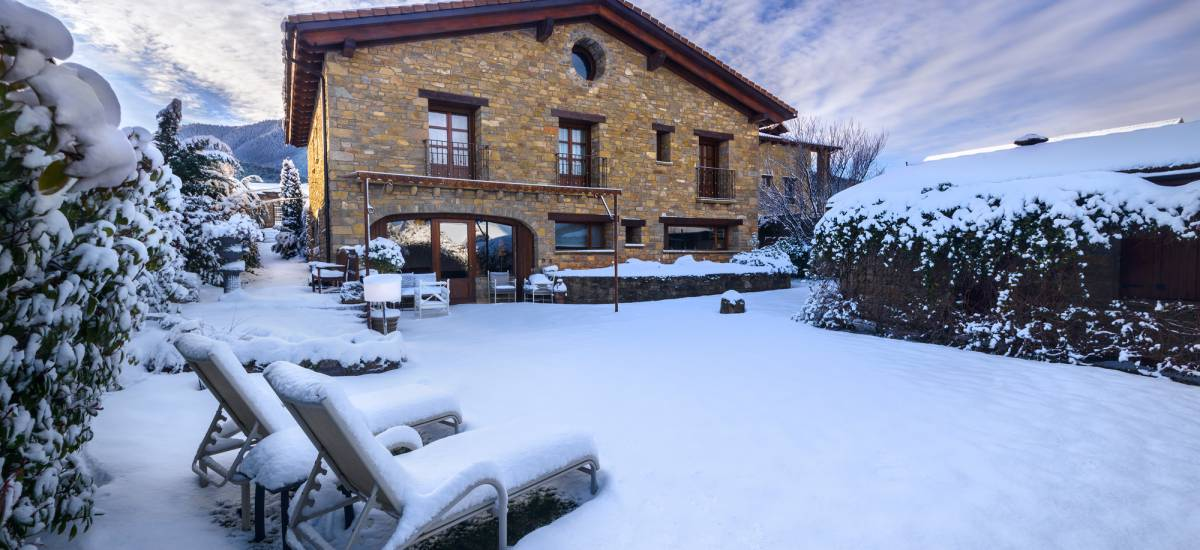 Hotel Barosse Huesca Jaca Jardin Nevado de Hotel Barosse
