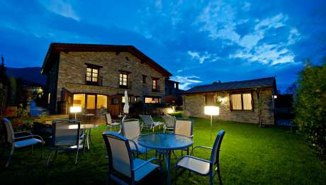 Rusticae Huesca charming Hotel Barosse outside