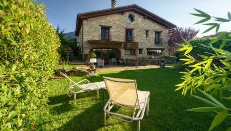 Hotel Barosse Jaca Huesca Pirineo Garden Hotel Barosse hammock