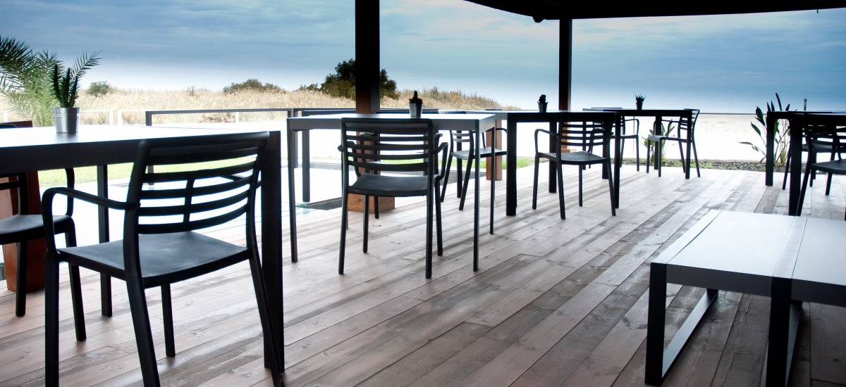 Hotel Boutique Botaniq Mojácar beach restaurant