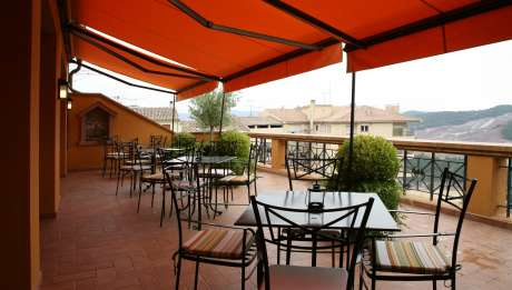 Hotel Bremon in Cardon Barcelona, terrace
