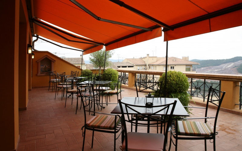 Hotel Bremon in Cardon Barcelona, terrace
