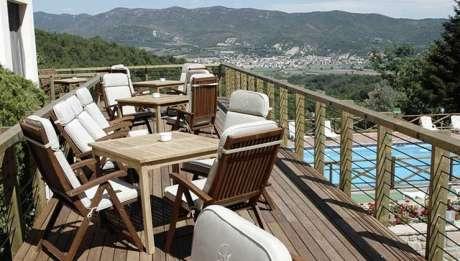 Rusticae Lleida Hotel con encanto Terraza