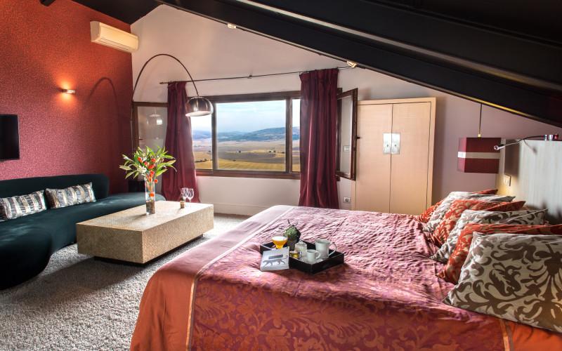 Hotel Cardamomo Sigüenza Red Room Hotel Cardamomo