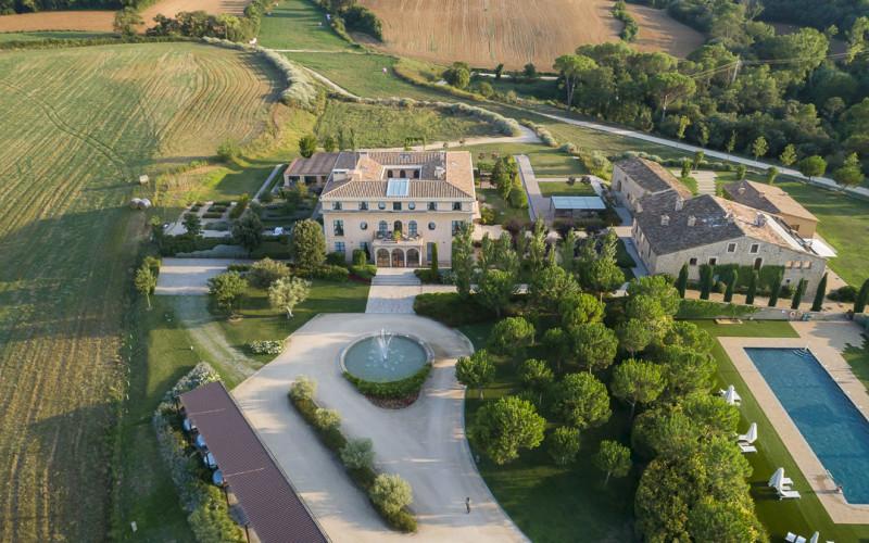 Casa AnaMaria Hotel & Villas Aerial View