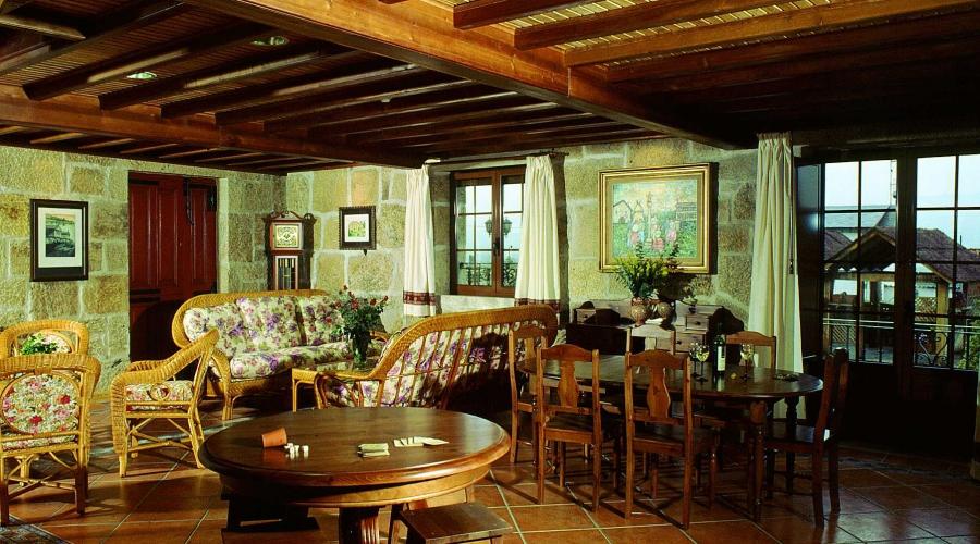 Rusticae A coruña Hotel con encanto Salón