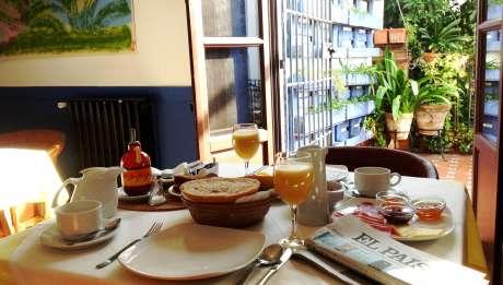 Rusticae Hotel Córdoba con encanto Desayuno