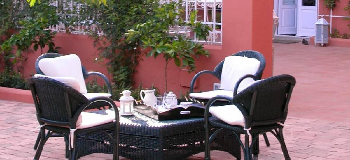 Rusticae Badajoz Hotel con encanto Terraza