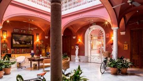 Rusticae Badajoz Hotel con encanto Hall
