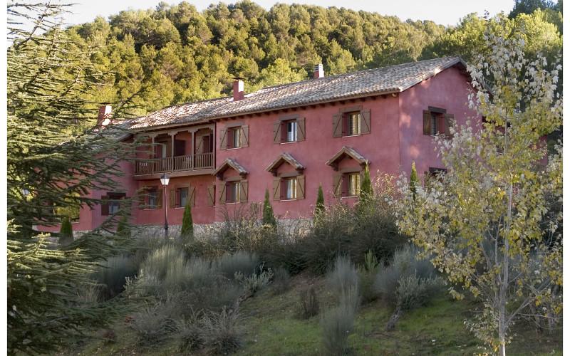 La Casita de Cabrejas Hotel Casa Rural Jábaga Cuenca jardin