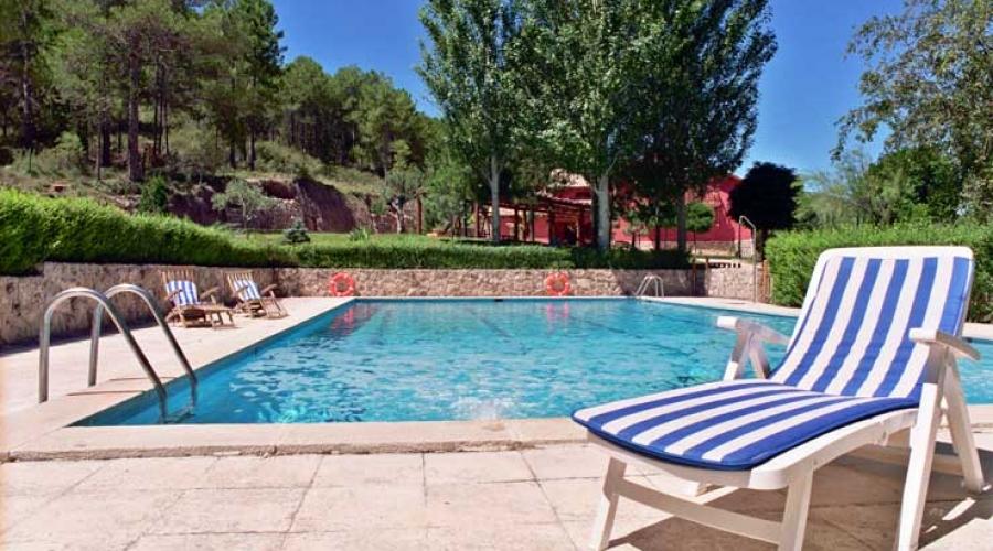 Rusticae Hotel Cuenca con encanto Piscina
