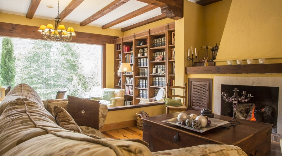 Rusticae Hotel Cuenca con encanto Habitación Salón