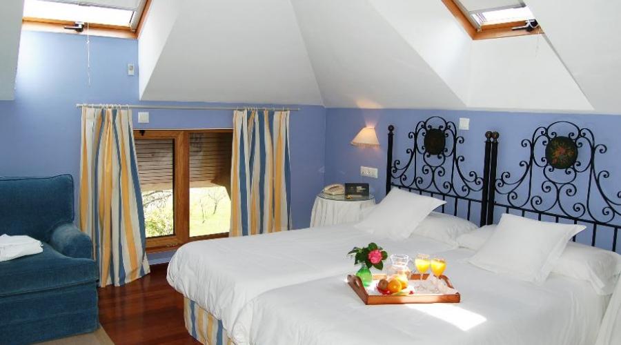 Rusticae Asturias Hotel Casona de Paca de playa habitación