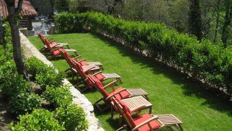 Rusticae Cantabria Hotel Casona de Quintana para niños terraza