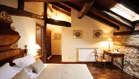 Rusticae Cantabria Hotel Casona de Quintana rural habitación