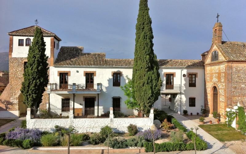 Hotel Cortijo del Marqués Rusticae entrada jardines