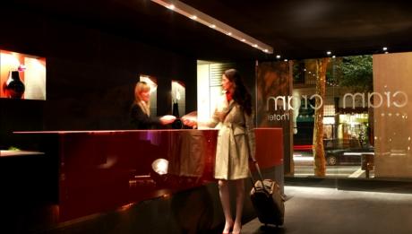 Rusticae Barcelona Hotel con encanto Recepción
