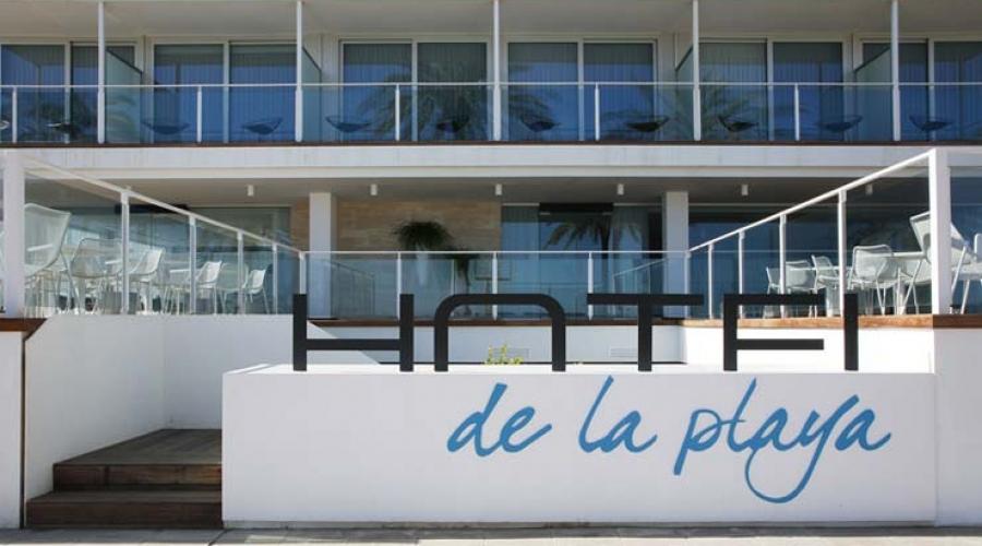 Hotel de la playa hoteles con encanto en valencia for Hotel diseno valencia