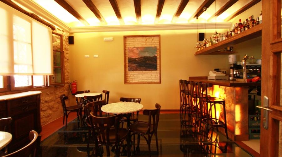 Rusticae Teruel Hotel del Sitjar con encanto cafeteria
