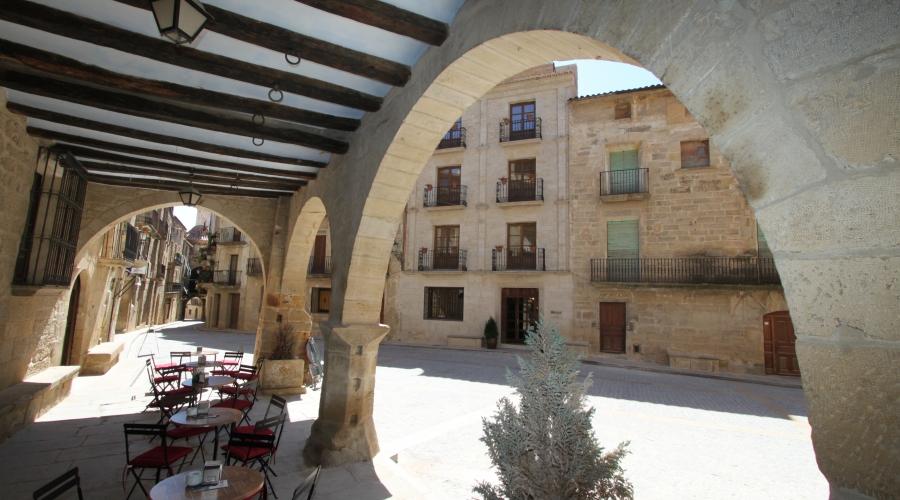 Rusticae Teruel Hotel del Sitjar con encanto exterior