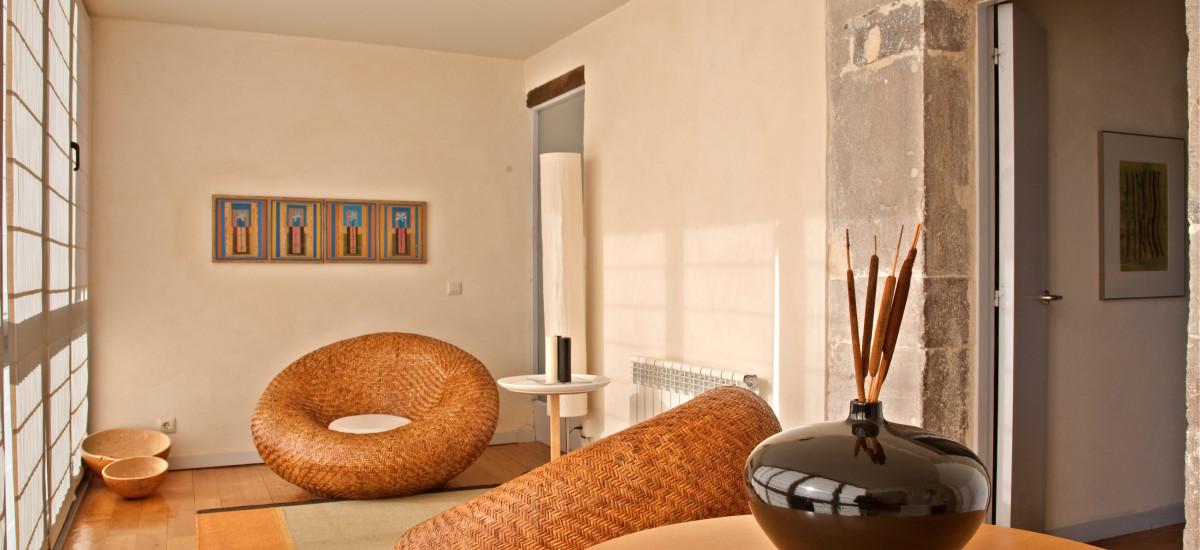 Hotel El Babú Rusticae livingroom