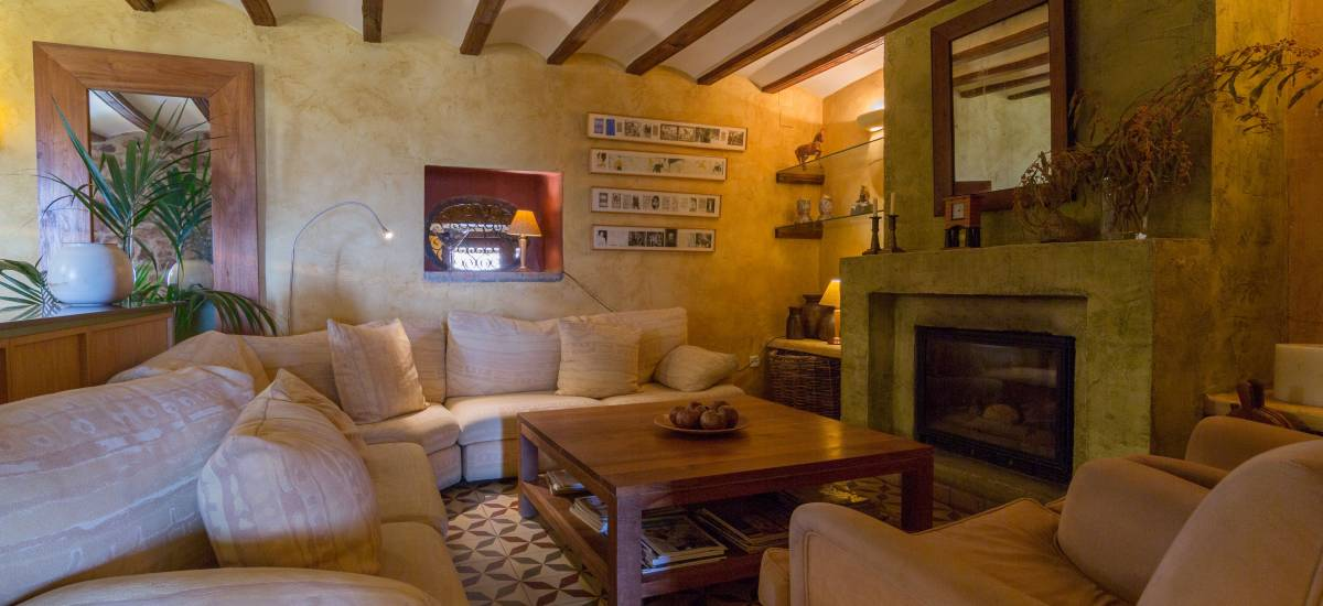 Rusticae charming Hotel Castellón living room