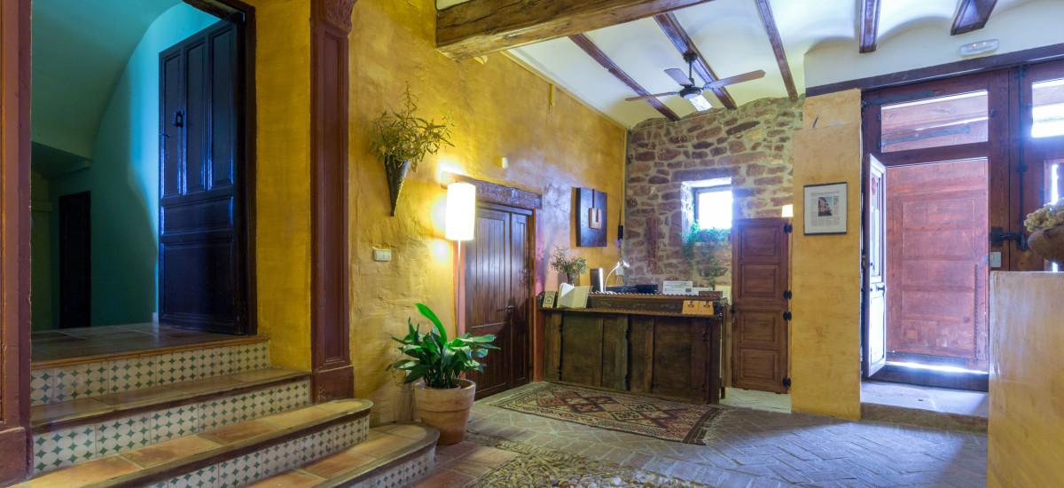 Rusticae Hotel Castellón con encanto Recepción