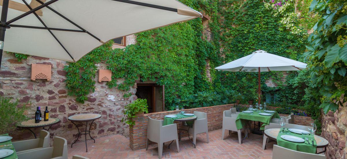 Rusticae Hotel Castellón con encanto Terraza