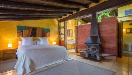 Rusticae charming Hotel Castellón bedroom